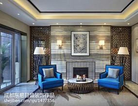 面积100平简欧三居装修设计效果图片欣赏