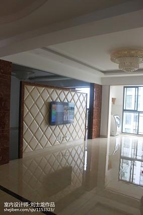 质朴133平现代三居客厅装饰图片