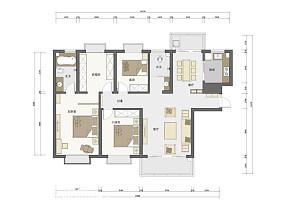 两室两厅简约风格