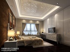 精美100平米三居卧室欧式装修图片大全