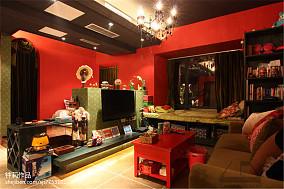 热门80平米混搭小户型客厅装修效果图