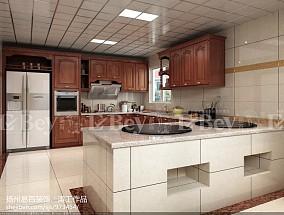 精选面积131平别墅厨房欧式装修图片