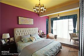 2018精选114平米混搭复式卧室装修设计效果图片