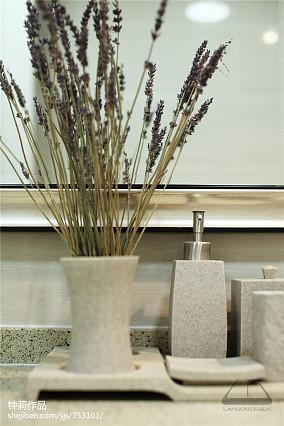 精选124平米美式复式餐厅欣赏图