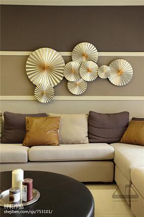 精美141平米四居客厅现代装饰图片