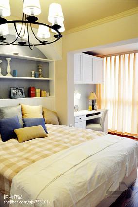 悠雅117平混搭三居卧室装修案例