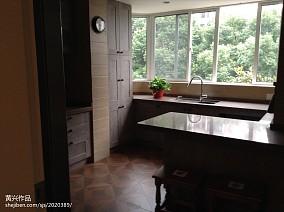 精美面积85平田园二居厨房装修图片大全