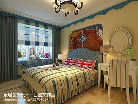 热门面积138平复式卧室地中海效果图片