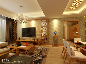 家装木质地板展示