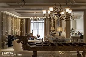 精选面积143平别墅客厅东南亚装饰图片欣赏
