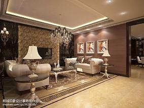 精选127平米新古典别墅卧室效果图片