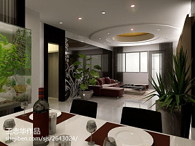 2018精选100平米三居客厅现代装饰图片