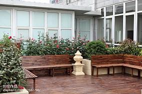 2018东南亚别墅花园装饰图片