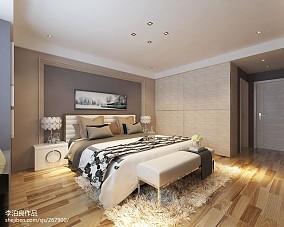 100平米三居卧室现代实景图片欣赏