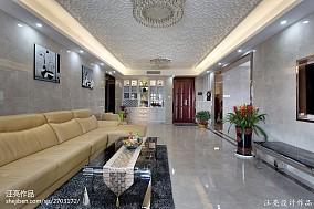 精美大小98平現代三居客廳裝修圖片