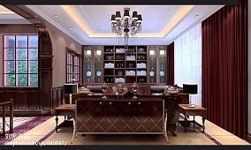 热门别墅客厅中式装修图片