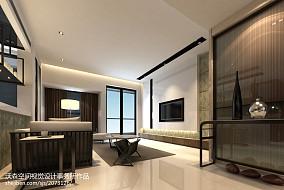 136平米四居客厅现代装修图片欣赏