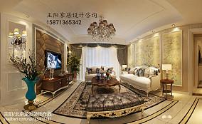 精美108平方三居卧室欧式装修图片大全