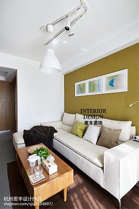 明亮90平现代三居装修设计图