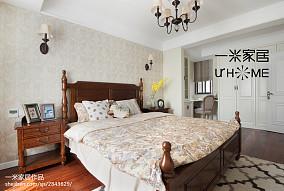 2018精选复式卧室美式装修设计效果图片