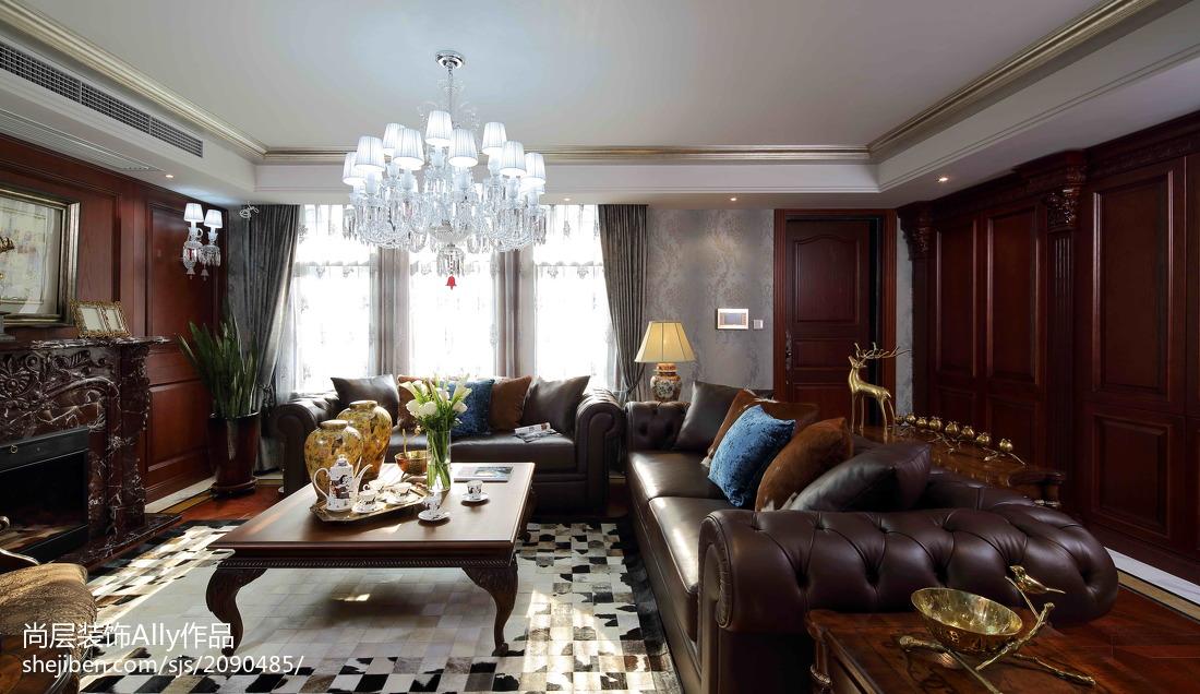 欧式客厅别墅装修设计