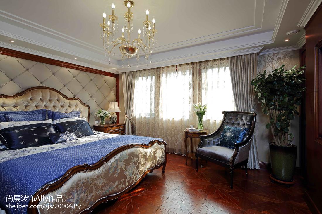 欧式风格卧房家具效果图