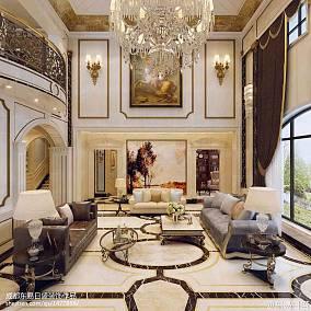 热门140平方欧式别墅客厅装修图片欣赏