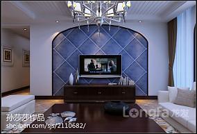 精选客厅曲美实木家具