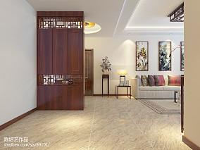 2018精选92平米三居客厅中式设计效果图