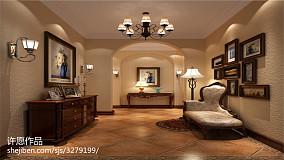 美式卧室大床图片