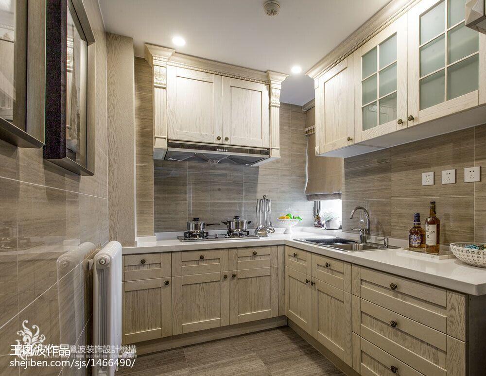 最新现代厨房简约家装设计效果图
