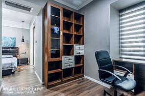 100平米三居书房现代装饰图片欣赏