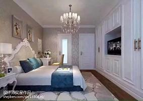 精美108平米三居卧室现代装修欣赏图