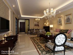 现代欧式三居室装修风格设计