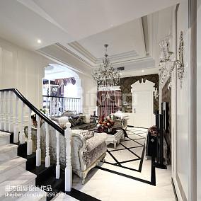 热门面积116平别墅客厅东南亚装饰图片欣赏