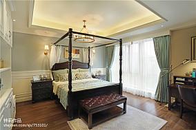 优美928平美式别墅装修案例