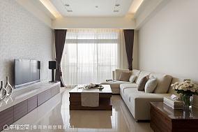 现代简约风格客厅装修效果图图片