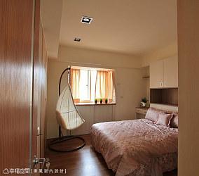 简简单单的宜家风格卧室图