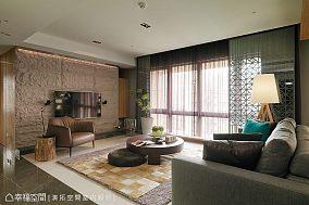 现代简约客厅电视墙效果图片