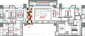 别墅130平米户型图