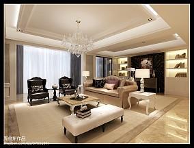 时尚混搭客厅装潢设计