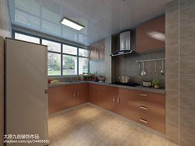 热门78平米现代小户型厨房装修效果图片大全