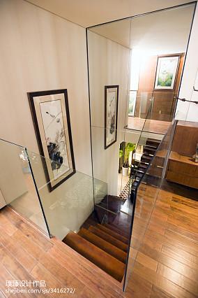 实木中式楼梯