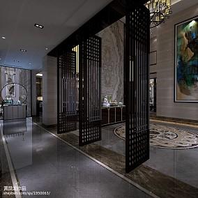 中式别墅客厅欣赏图
