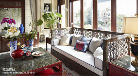 中式现代家装装修效果图