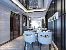 餐厅现代装修实景图片