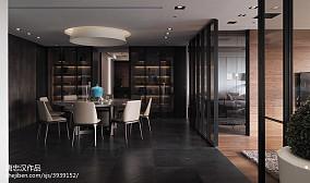 2018107平米三居餐厅现代装修效果图片大全