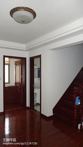 简单二层小别墅户型图片