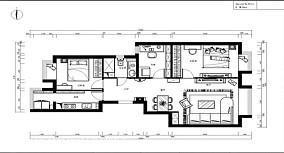 现代中式室内设计案例