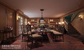 精选别墅餐厅新古典欣赏图片
